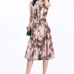 Đầm Y'ves Rose tơ lụa giá sỉ