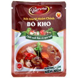 Xốt gia vị hoàn chỉnh Bò Kho Barona 80g giá sỉ