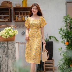 Đầm maxi hoa giá sỉ