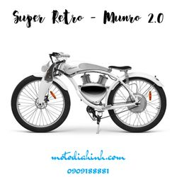 Xe máy điện Munro Retro 20 giá sỉ