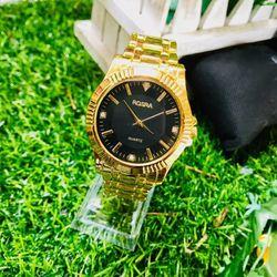 Đồng hồ thời trang nam nữ Rs dây kim loại H41 giá sỉ