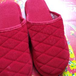 Dép vải đế dầy free size 32k 1 đôi màu đỏ giá sỉ
