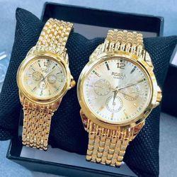 Đồng hồ thời trang nam nữ Ros Mã số 05 giá sỉ