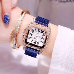 Đồng hồ nữ dây nam châm LSV giá sỉ