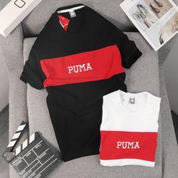 Quần áo thể thao -áo PUMA cotton phối thun xịn - co giãn 4 chiều giá sỉ