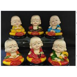 Bộ tượng Chú Tiểu Lục Độ giá sỉ
