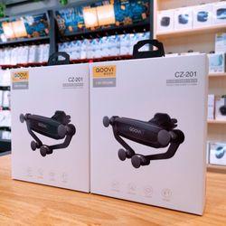 QooVi vừa cho ra mẫu Mới giá đỡ điện thoại cắm cửa gió CZ -201 giá sỉ