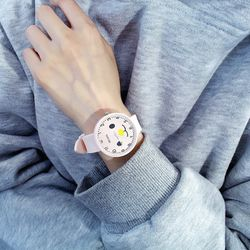đồng hồ thời trang nam nữ Huans dây silicon