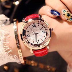 Đồng hồ nam nữ SHSH dây da giá sỉ