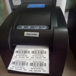 Máy in tem mã vạch Xprinter XP 350B giá sỉ