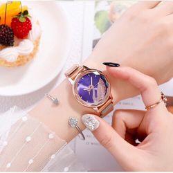 Đồng hồ nữ mặt thiên Nga