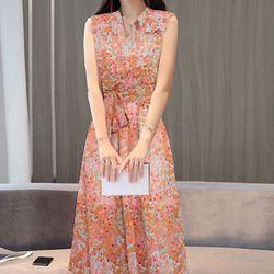 Đầm maxi bông lúa - MS0542D giá sỉ
