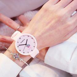 Đồng hồ nam cao dây silicon giá sỉ