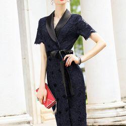 Đầm ren lady sang trọng - MS0498D giá sỉ