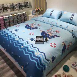 Bộ Chăn Ga Gối Cotton Korea NS296 giá sỉ