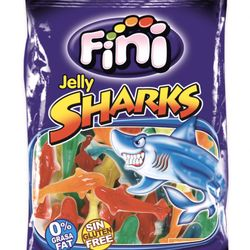 Kẹo dẻo Fini Jelly Sharks (Cá Mập) 100g giá sỉ