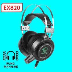 Tai nghe chụp EX820 LED+Rung chuyên game giá sỉ