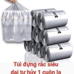 túi đựng rác siêu dai tự hủy