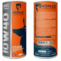 Nomad 10W40 tổng hợp 1.1L 100% chuẩn cho winer và xe số( thùng 24) giá sỉ