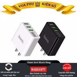 (TUYỂN SỈ CỘNG TÁC VIÊN - TOÀN QUỐC) Củ sạc Hoco C15 3 USB - Màn Hình LCD Giá Rẻ - Củ sạc BH 1 năm giá sỉ