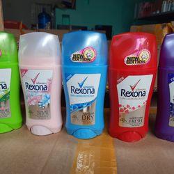 Lăn khử mùi Rexona sáp 5 màu giá sỉ