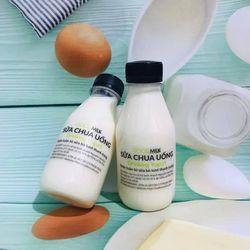 Sữa chua uống từ sữa bò tươi thanh trùng giá sỉ