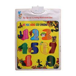 (TUYỂN CTV TOÀN QUỐC) Bảng chữ cái và chữ số tiếng Việt điện tử nói treo tường- Đồ chơi giáo dục cho bé Kagonk 16511 giá sỉ