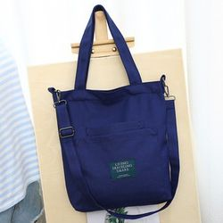 Túi tote vải bố đựng đồ canvas đeo chéo QN1 TX04 giá sỉ
