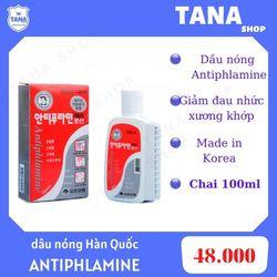 Dầu nóng Hàn Quốc Antiphlamine, giá sỉ giá sỉ