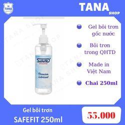 Gel bôi trơn gốc nước Safefit 250ml giá sỉ