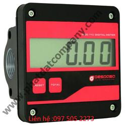 Đồng hồ đo lưu lượng xăng dầu số cơ số điện tử Gespasa hàng chính hãng giá rẻ giá sỉ