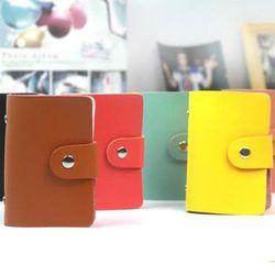 ví da đựng thẻ rất đẹp mẫu y hình có nhiều màu nha 9k sỉ rẻ giá sỉ