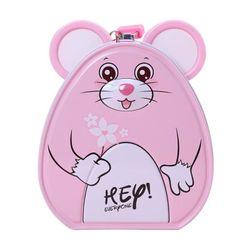 Két sắt mini cho bé hình chuột siêu cute - Hộp tiết kiệm đựng tiền thông minh có khóa cho bé giá sỉ