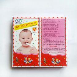 Rơ lưỡi đông fa cho bé ( 5 cái/hộp) giá sỉ