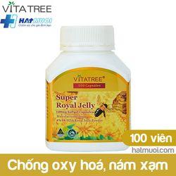 Vitatree Super Royal Jelly – Sữa ong chúa lọ 100 viên giá sỉ
