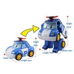 Đội cứu hộ biến dạng Robot Xe mô hình đồ chơi giáo dục trẻ em giá sỉ