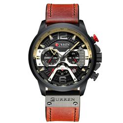 Đồng hồ nam Curren dây da cao cấp c001 giá sỉ