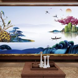tranh treo tường hình quê hương bát ngàn giá bán sỉ giá sỉ
