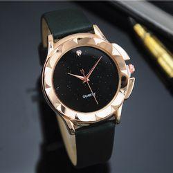 Đồng hồ nữ 4 màu hình hoa giá sỉ