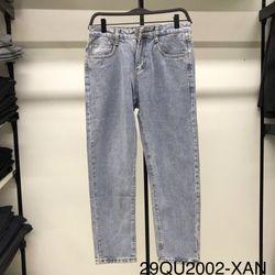 Quần Denim/Jeans Basic Carot Dài Trơn giá sỉ