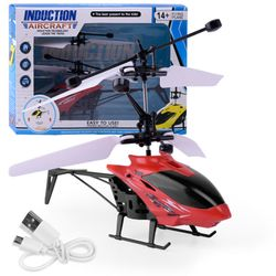 Máy bay cảm ứng bằng tay Holicopter - trực thăng cảm ứng Holicopter- Bán buôn số lượng lớn giá sỉ