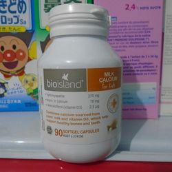 Canxi Milk BioIsland Úc 90 viên giá sỉ
