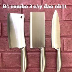 Bộ combo 3 dao inox cao cấp giá sỉ