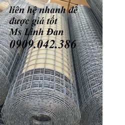 lưới thép hàn phi 1,2,3, 4 mạ kẽm, lưới thép hàn ô vuông, lưới thép hàn có sẵn giá sỉ