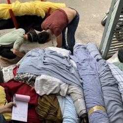 Vải đẹp, giá tốt nên các xưởng mua số lượng cả tấn mỗi ngày nhé giá sỉ