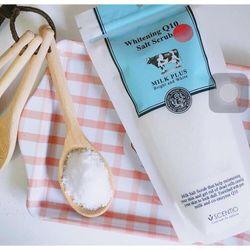 Muối tắm trắng Whitening Q10 Salt Scrub, muối tắm trắng, muối tắm trắng dưỡng trắng da hiệu quả, muối tắm trắng Q10, Muối tắm trắng con bò , Muối tẩy tế bào chết, Muối tẩy tế bào chết Q10 giá sỉ