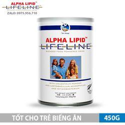 [MỚI] Sữa non Alpha Lipid dành cho trẻ biếng ăn - 450g - NK New Zealand giá sỉ