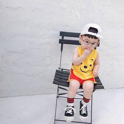 Bộ đồ bé trai - bộ ba lỗ mặt cười giá sỉ