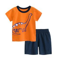 Bộ thun khủng long bé trai giá sỉ
