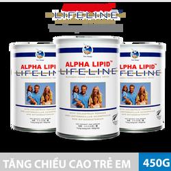 [MỚI] Sữa non Alpha Lipid tăng chiều cao trẻ em - 450G - NK New Zealand giá sỉ